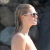 Thumbnail image for Victoria's Secret Model Toni Garrn Goes Topless on the Beach (PICS)