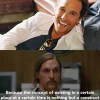 Thumbnail image for Matthew McConaughey Rust Cohle Pick-Up Line Mashups from Someecards