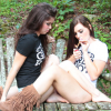 Thumbnail image for Stoned Girls of the Week: Two Girls, One River