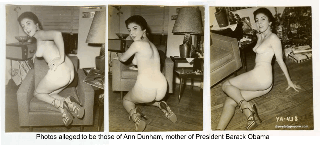 Quickly thought)))) Obama s mom nude pictures