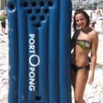 Giveaway – Port-O-Pong Inflatable/Portable Beer Pong Table