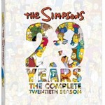 The Simpsons: The Complete Twentieth Season DVD Giveaway