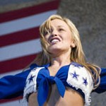 Cheering for the Troops