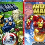 DVD Giveaway – Iron Man: The Complete Animated Series and X-Men: Volume 5 Combo Pack