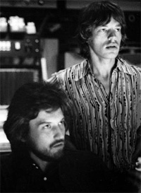 Jimmy Miller and Mick Jagger