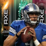 NFL Contest: Guess the Score To Win A Matthew Stafford Autographed Football From AXE Hair
