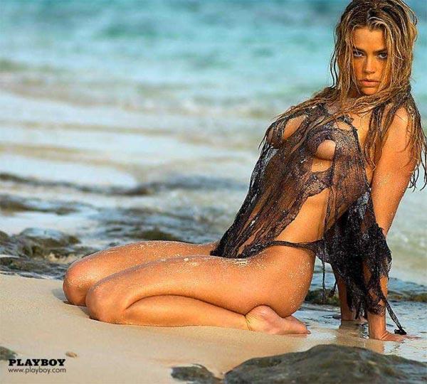 Denise Richards nackt Nacktbilder & Videos, Sextape