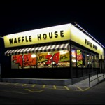 Take Your Loved One To A Candlelight Valentine's Dinner at The Waffle House