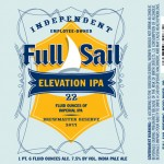 Elevation Imperial IPA: Full Sail Brewing Releases New Hop Bomb