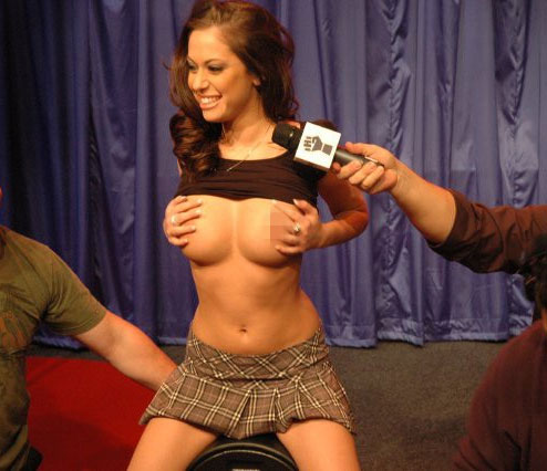 Denise milani blow job naked