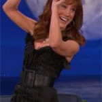 Kathy Griffin On Conan O'Brien Discussing Topless Photos (PICS)