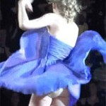 Taylor Swift Has A Wardrobe Malfunction On Stage (VIDEO)