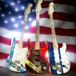 Fender Custom 911 Stratocaster Guitars Tribute New York's Finest and Bravest