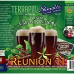 Reunion Ale '11: A Beer For Hope from Shmaltz Brewing & Terrapin Beer