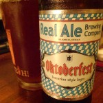 Pope Crisco: Oktoberfest by Real Ale Brewing Company