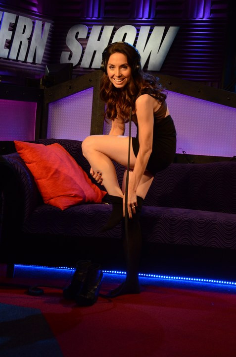 Pantyhose on howard stern show