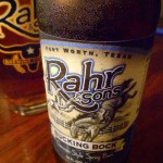 Pope Crisco: Bucking Bock by Rahr and Sons