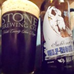 Pope Crisco: Sublimely Self-Righteous Ale by Stone Brewing Company