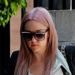 Amanda Bynes Wears a See Through Top on Her Perp Walk