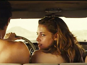 Post image for Kristen Stewart Leaked Topless Sex Scene From On The Road  (Video)