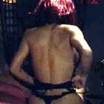 Salma Hayek Topless Thong in Americano 3