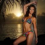 Denver Broncos cheerleader Chelsea in a bikini