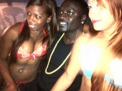 Akon was spotted by our company Tortuga (DMC) at a popular adult vacation ...