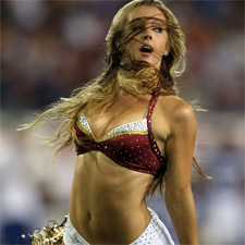 Hot cheerleader - NFL week 9 free expert picks and predictions