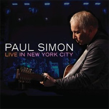 Paul Simon Live in New York City cover Art