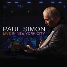 Paul Simon Live in New York City cover Art