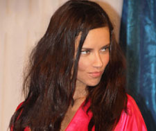 Adriana Lima Falls Out of Her Robe at 2012 Victorias Secret Fashion Show