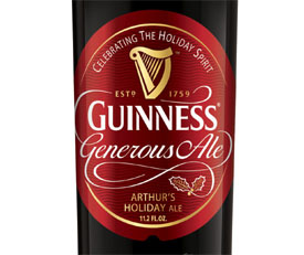 Post image for Guinness & Co. Releases Holiday Beer Guinness Generous Ale