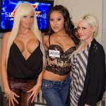 Howard Stern Show: Torrey Pines, Rikki Six and Jayden Lee in Studio (PICS)