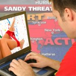 NY and NJ Residents Prepared for Hurricane Sandy… with Porn