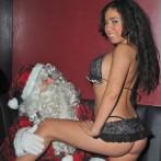 Santa Claus getting a lap Dance 7