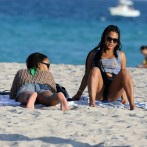 Christina Milian has a Nipple Slip on the Miami Beach 9