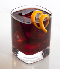 Post image for Valentines Day Cocktail Recipe from Sandeman Founders Reserve Porto