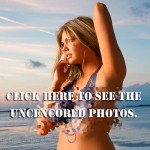 Sports Illustrated Cover Girl Kate Upton Nude and Topless with Only Body Paint