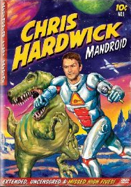 Chris Hardwick: Mandroid DVD cover - giveaway