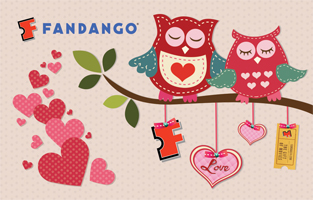 Fandango Valentine's Movie Date Night Giveaway post image