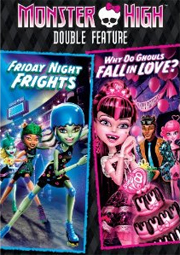 monster high double feature dvd giveaway - dvd cover