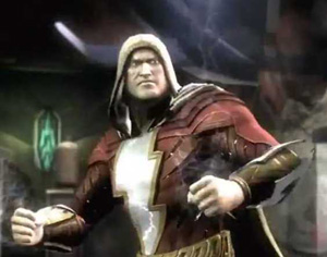 Post image for Doomsday Pounds Shazam in New Injustice Trailer