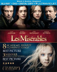 Post image for Giveaway – Win the LES MISERABLES Blu-ray + DVD Combo Pack