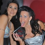 "Rick's Cabaret Girls Present Tabitha Stevens with ""Sexiest Podcast"" Award (PICS)"