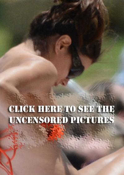 Eva Longoria Uncensored Nipple Slip
