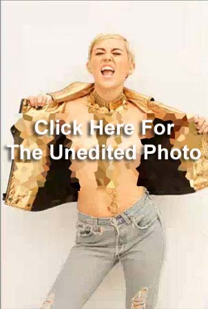 Link Topless Miley Cyrus Photos Leaked to the Web