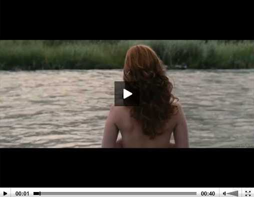 January Jones Topless Scene From 'Sweetwater'