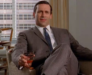 "Post image for Jim Beam Cocktail Party Suggestions for the Season 6 Finale of ""Mad Men"""