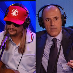 Post image for Howard Stern Interviews Kid Rock and Matt Lauer (VIDEO)