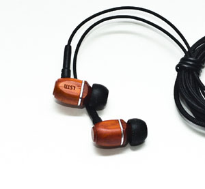 Cherry Wood Earbuds - LSTN Headphones Post